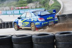 Photo courtesy of Subaru Rally Team China
